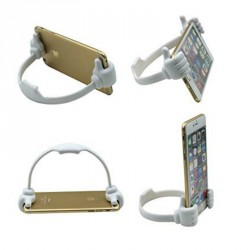 Support Téléphone Portable Smartphone Tablettes OK STAND FUN MAINS