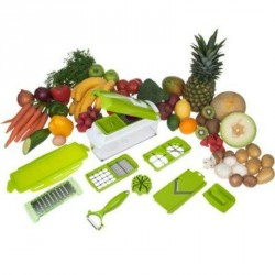 Nicer Dicer Plus Coupe-Légumes Et Fruits 10 en 1